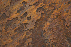 Éclailles de corrosion image libre de droits