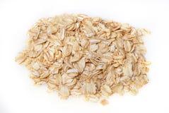 Éclailles de farine d'avoine Photographie stock libre de droits