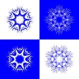 Éclailles de neige Illustration de Vecteur