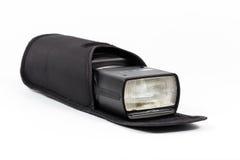 Éclair de Speedlight Photographie stock libre de droits