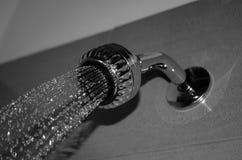Éclair et eau Images stock