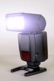 Éclair noir d'appareil-photo de photo Photographie stock libre de droits