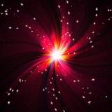 Éclair rouge lumineux photographie stock
