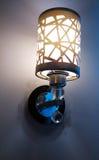 Éclairage à la maison d'intérieur léger de lampe de mur de vintage photo libre de droits