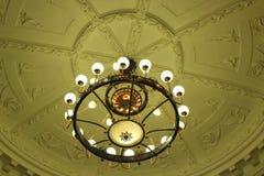 Éclairage antique de plafond Image libre de droits