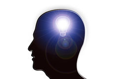 Éclairage d'idée illustration libre de droits