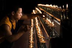 Éclairage de lampe Photos libres de droits