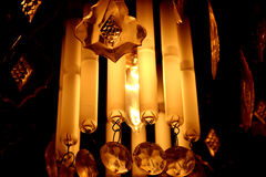 Éclairage de lustre Image stock