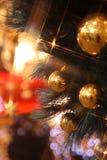 Éclairage de Noël Images libres de droits