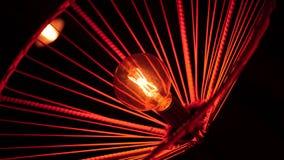 Éclairage de scintillement en acier de lampe de plafond images libres de droits