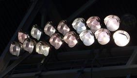 Éclairage de stade Photos libres de droits