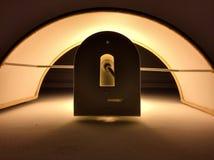 Éclairage dramatique de lampe Images libres de droits