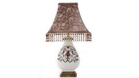 Éclairage en céramique de luxe de bureau Images stock
