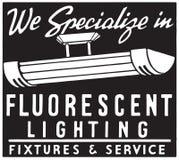 Éclairage fluorescent illustration stock