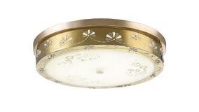 Éclairage moderne mené de lumière de toit de lampe de plafond photo stock