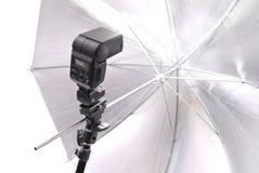 Éclairage professionnel de photographie Photos stock