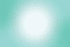 Éclairage vert de fond de turquoise au centre illustration de vecteur
