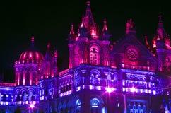 Éclairage-XI de célébration de Jour de la Déclaration d'Indépendance Image stock