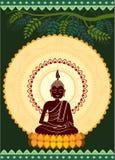 Éclaircissement Bouddha illustration libre de droits