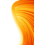 Éclat abstrait de rouge et blanc orange d'onde. ENV 8 illustration libre de droits
