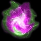 Éclat coloré abstrait de fractale Images stock