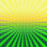 Éclat coloré d'image tramée Images libres de droits
