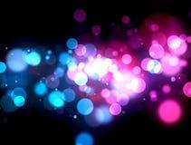 Éclat coloré multi de lumière illustration stock