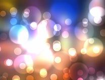 Éclat coloré multi de lumière Images libres de droits
