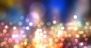 Éclat coloré multi de lumière Photo stock