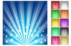 Éclat d'étoiles Photographie stock libre de droits