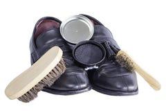 Éclat de chaussure Photo libre de droits