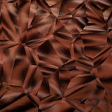Éclat de chocolat Image libre de droits