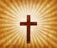 Éclat de croix Image stock