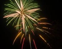 Éclat de feux d'artifice Image stock