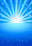 Éclat de lumière Photographie stock libre de droits