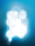 Éclat de lumière sur une surface grise abstraite avec le métal fondu illustration de vecteur
