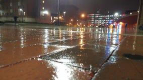 Éclat de pluie Photographie stock libre de droits