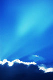 Éclat de Sun Photos libres de droits