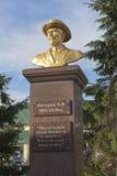 Éclatez à Ivan Vladimirovich Michurin à la gare ferroviaire de Michurinsk-Uralsky dans la région de Tambov Photo libre de droits
