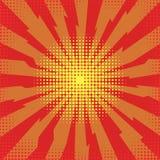 Éclatez l'éclair, explosion de bande dessinée, effet éclaté parespace, bombe comique, explosion d'étoile illustration stock