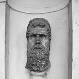 Éclatez la sculpture au ` Este de la villa D dans Tivoli, Italie photographie stock libre de droits