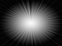 Éclatez sur le noir Images libres de droits