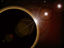 Éclipse 1 Photos stock