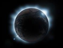 Éclipse illustration stock