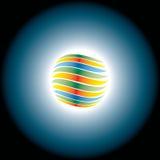 éclipse abstraite Images stock