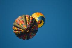 Éclipse chaude de ballon à air photo stock
