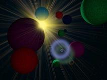 Éclipse d'une étoile Photographie stock libre de droits