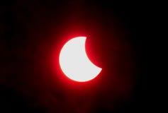 Éclipse de lune Image libre de droits
