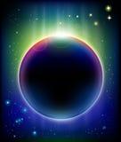 Éclipse impressionnante Image stock