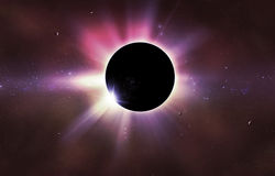 Éclipse solaire Photos libres de droits